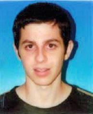 Passfoto von Gilad Schalit
